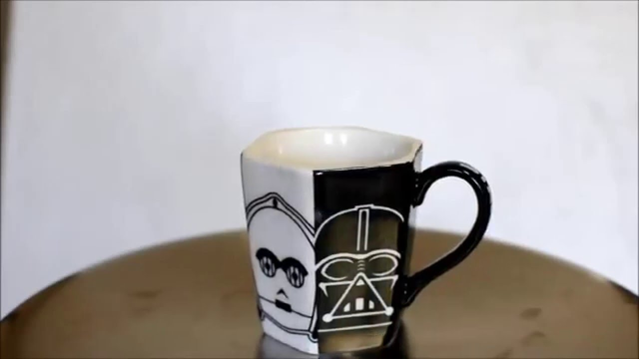 Image of: Mini Darth Vader Mug