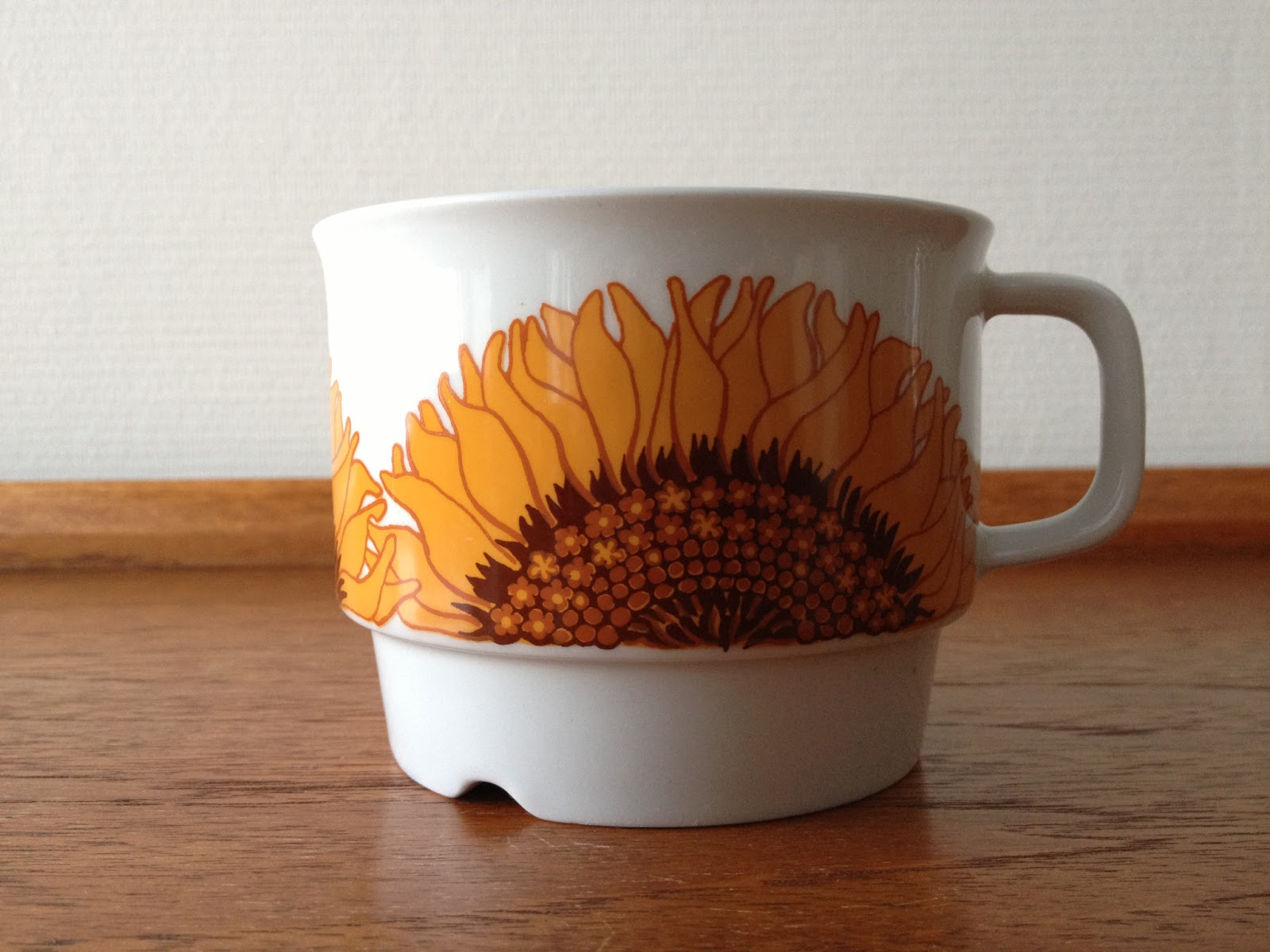 Image of: Mini Sunflower Coffee Mug