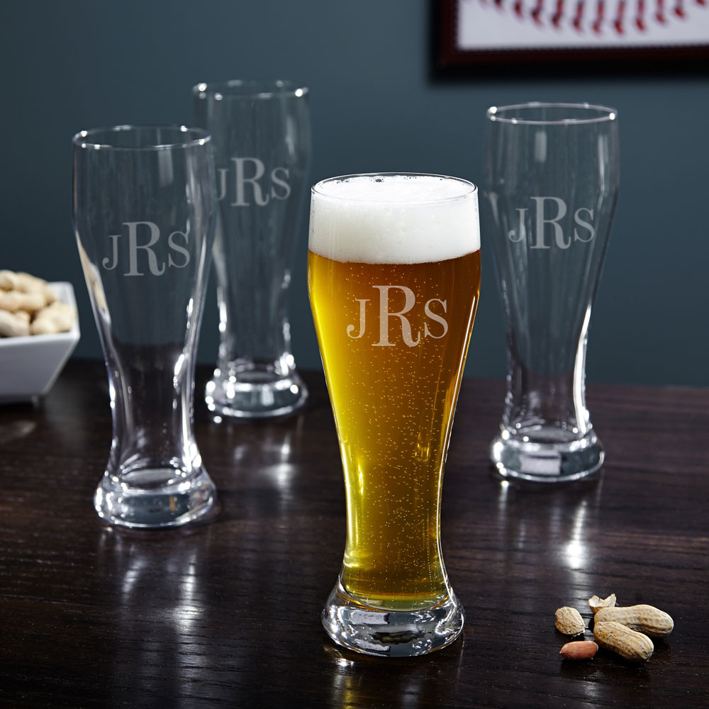 Image of: Minimalist Engraved Beer Mugs