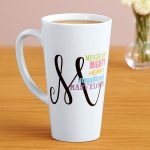 Monogrammed Coffee Mugs Image