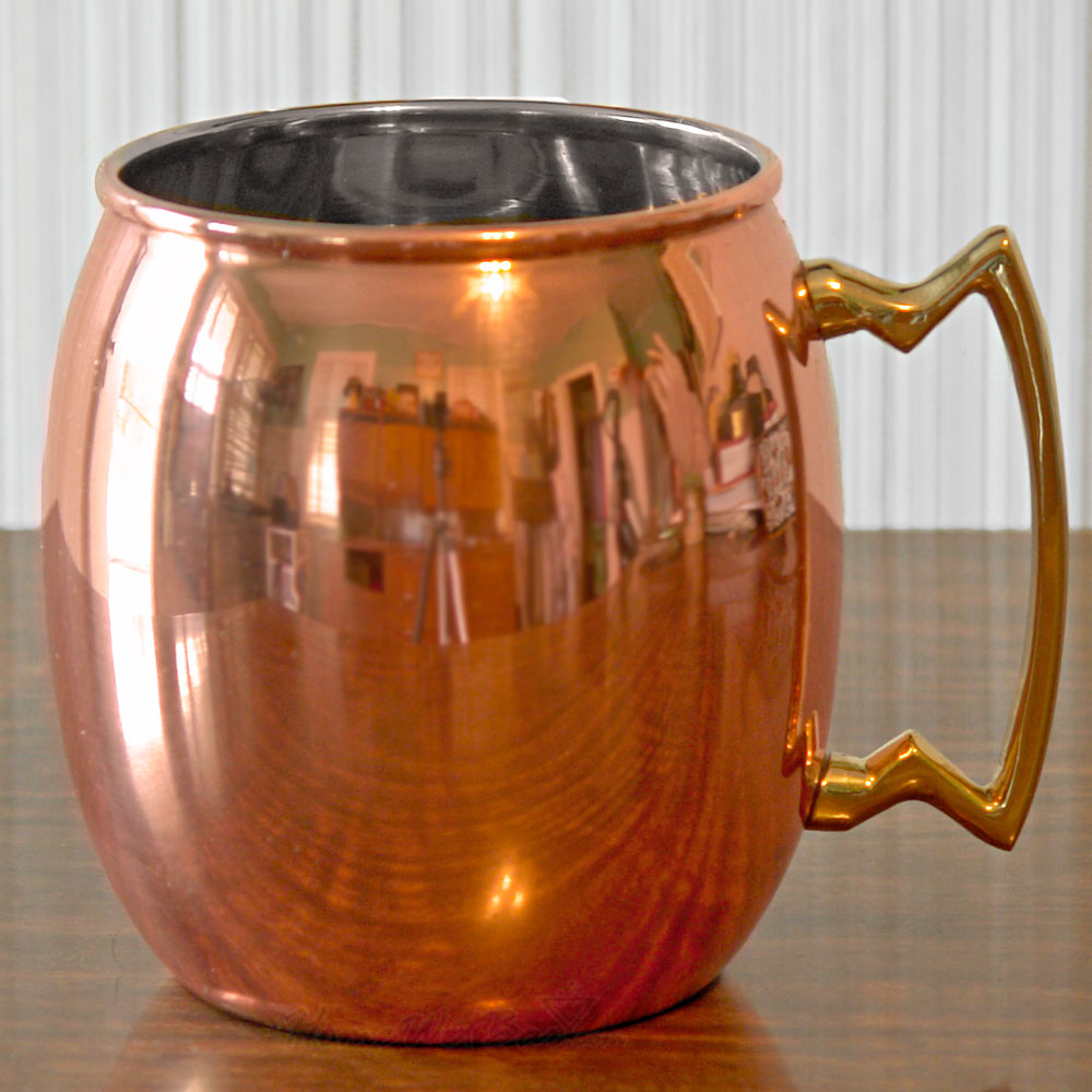 Image of: Moscow Copper Mule Mugs