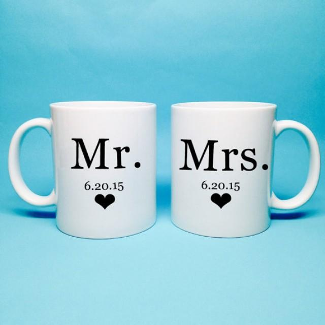Mr and Mrs Coffee Mugs Addition