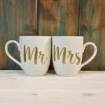Mr and Mrs Coffee Mugs Image