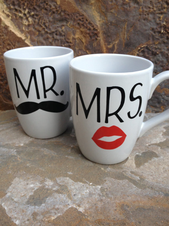Image of: Mr and Mrs Coffee Mugs Nice
