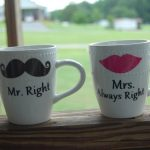Mr and Mrs Coffee Mugs Set