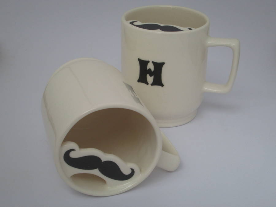 Image of: Mustache Mug Guard