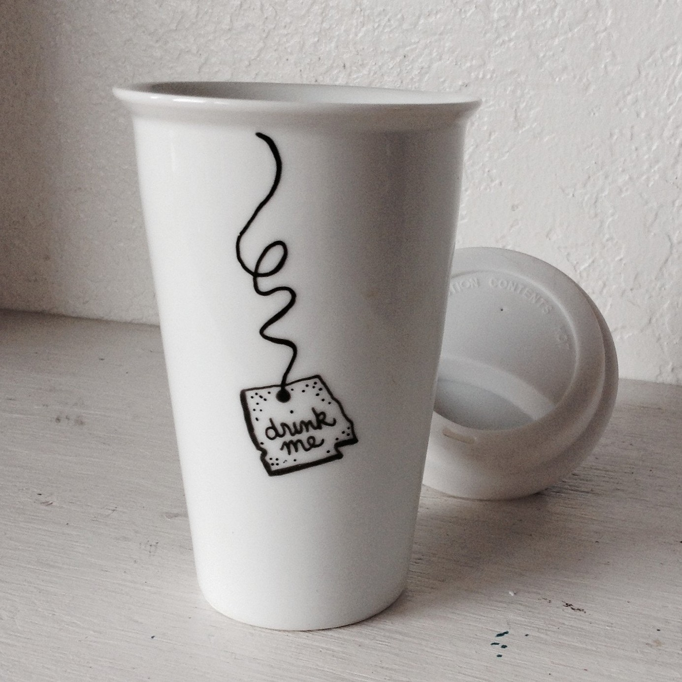 Image of: New Ceramic Travel Mug