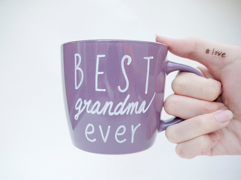 Image of: New Grandma Mug