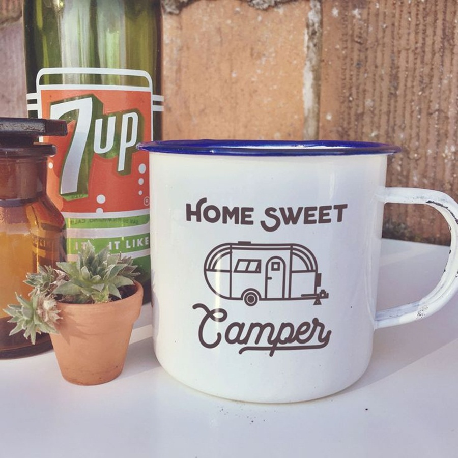 Image of: Nice Custom Camping Mugs
