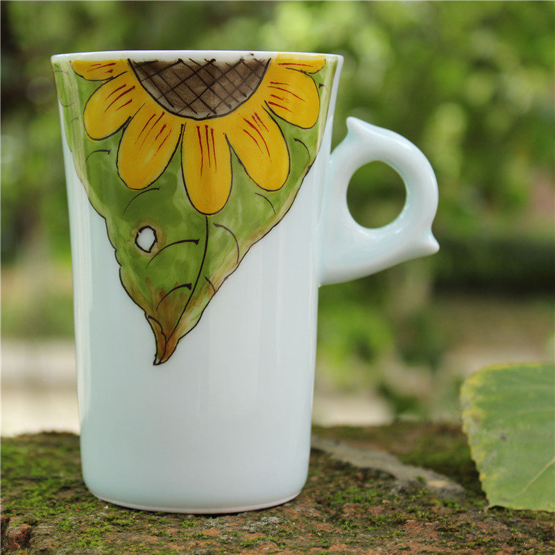 Image of: Nice Sunflower Coffee Mug