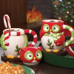 Owl Mugs Chrismast