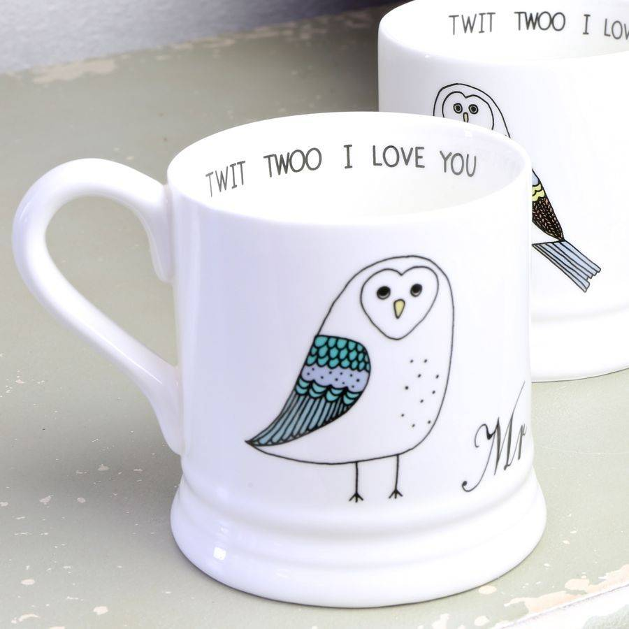 Image of: Owl Mugs Creative