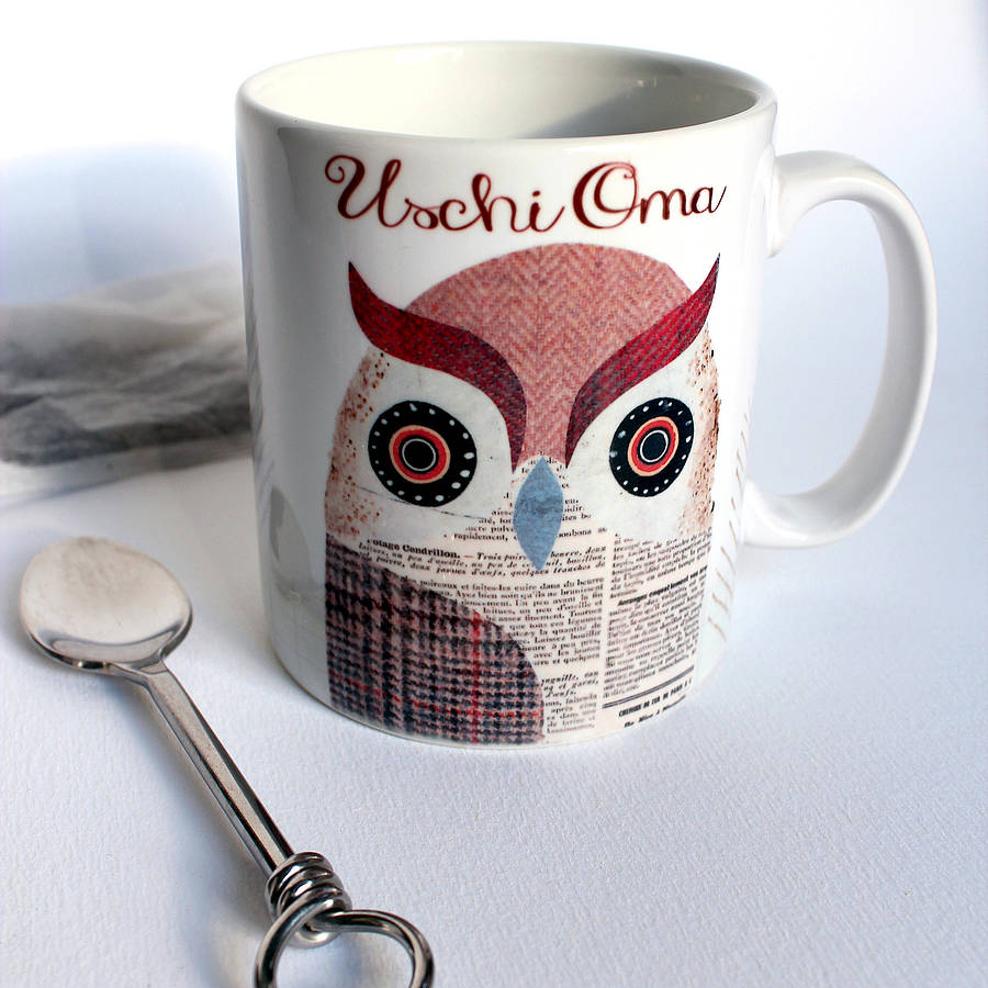 Image of: Owl Mugs Design