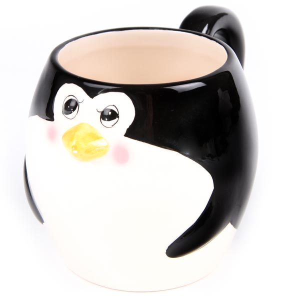 Image of: Penguin Mug Cute