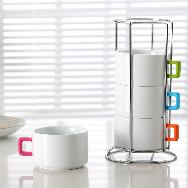Image of: Perfect Stacking Mugs