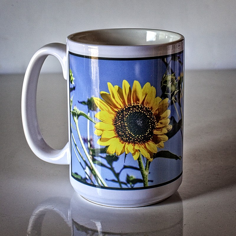 Image of: Perfect Sunflower Coffee Mug