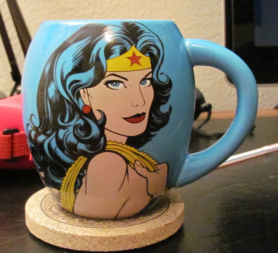 Image of: Perfect Wonder Woman Mug