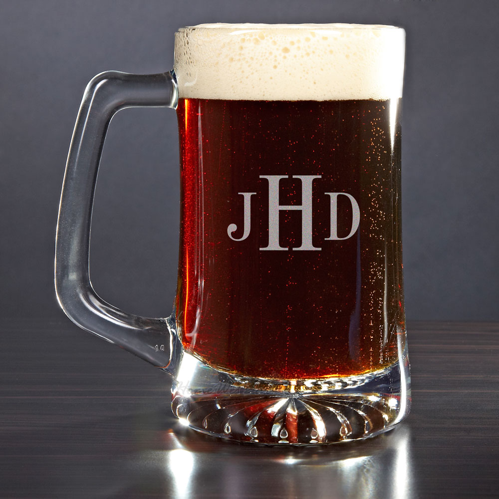 Image of: Personalized Engraved Beer Mugs