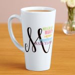 Personalized Latte Mugs