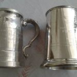 Pewter Mugs Antique