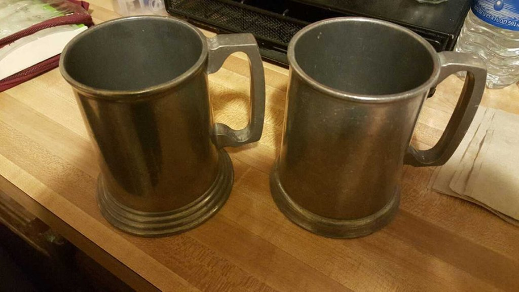 Image of: Pewter Mugs Central Coast