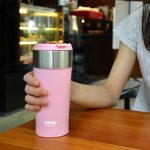 Pink Heated Coffee Mug