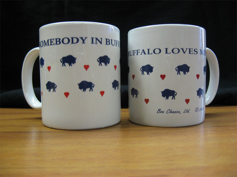 Image of: Popular Buffalo Mug