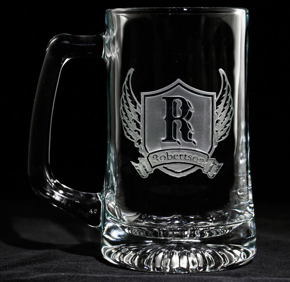 Image of: Popular Engraved Beer Mugs Designs