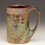 Pottery Mugs Brown