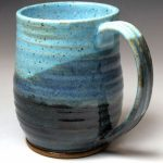 Pottery Mugs Green