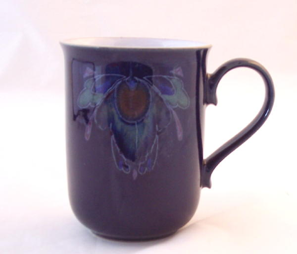Image of: Pottery Mugs Purple