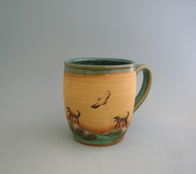 Image of: Pottery Mugs Small