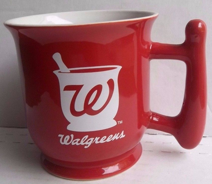 Image of: Red Walgreens Photo Mug