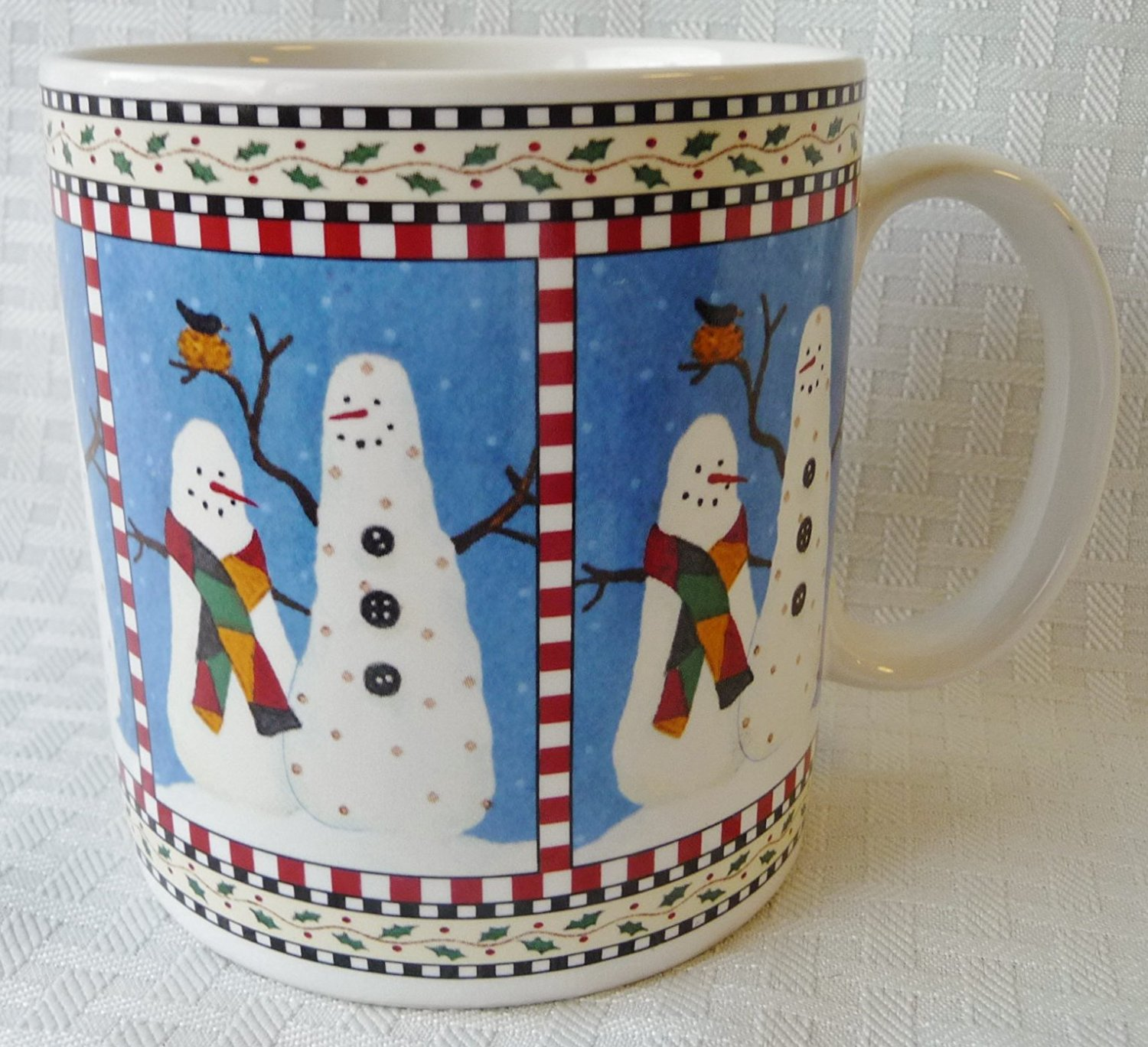 Image of: Set Snowman Coffee Mug