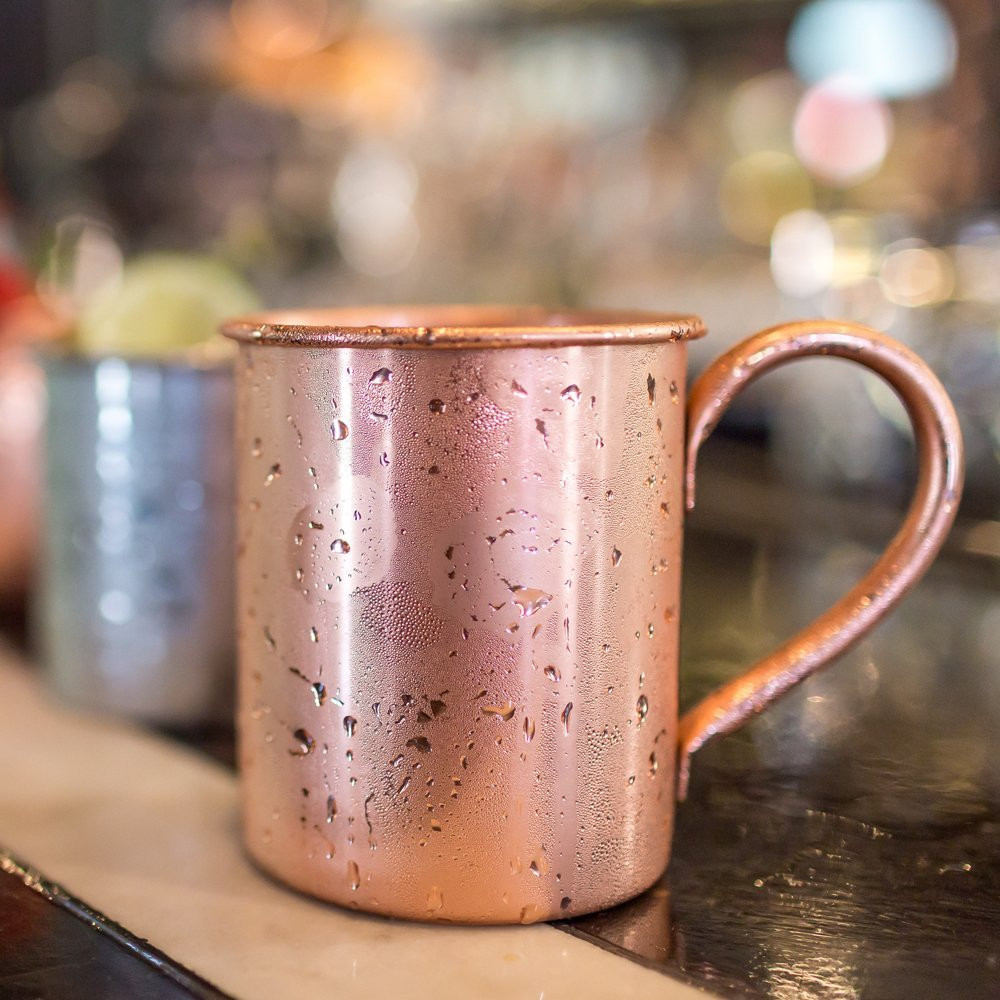 Image of: Simple Authentic Moscow Mule Mugs
