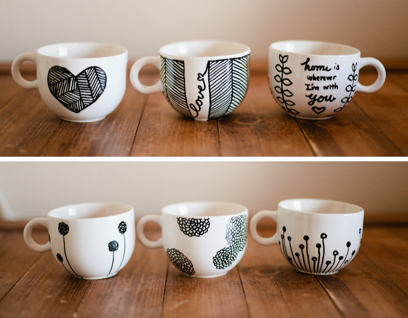 Image of: Simple Customizable Mugs Design