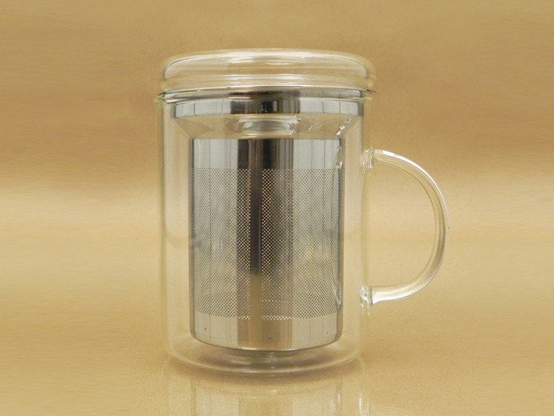 Image of: Simple Tea Mug with Infuser