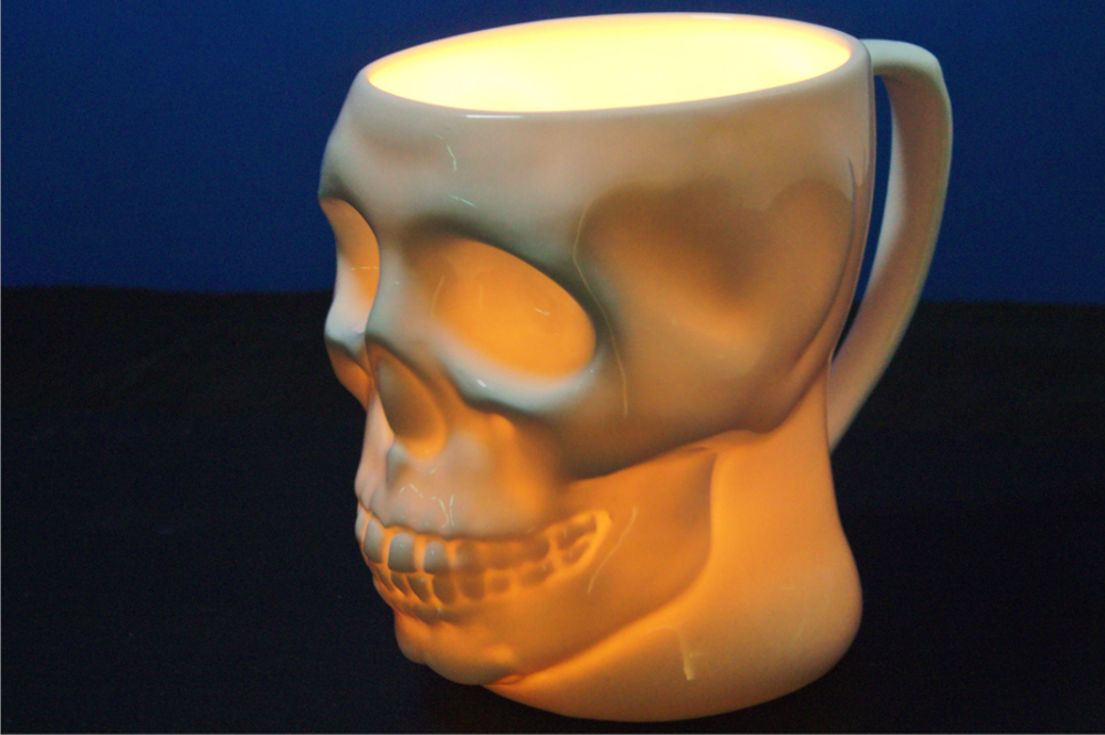Image of: Skull Mug Colors