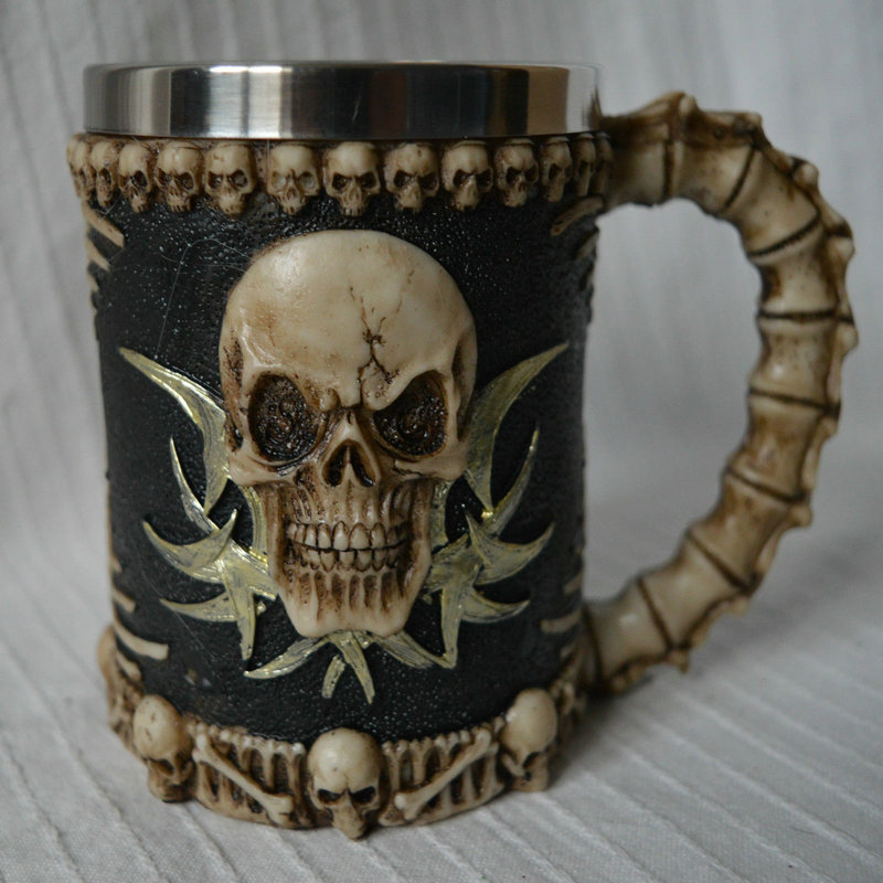 Image of: Skull Mug Designs
