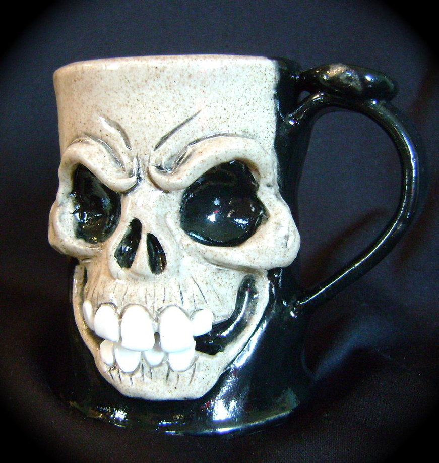 Image of: Skull Mug Ideas