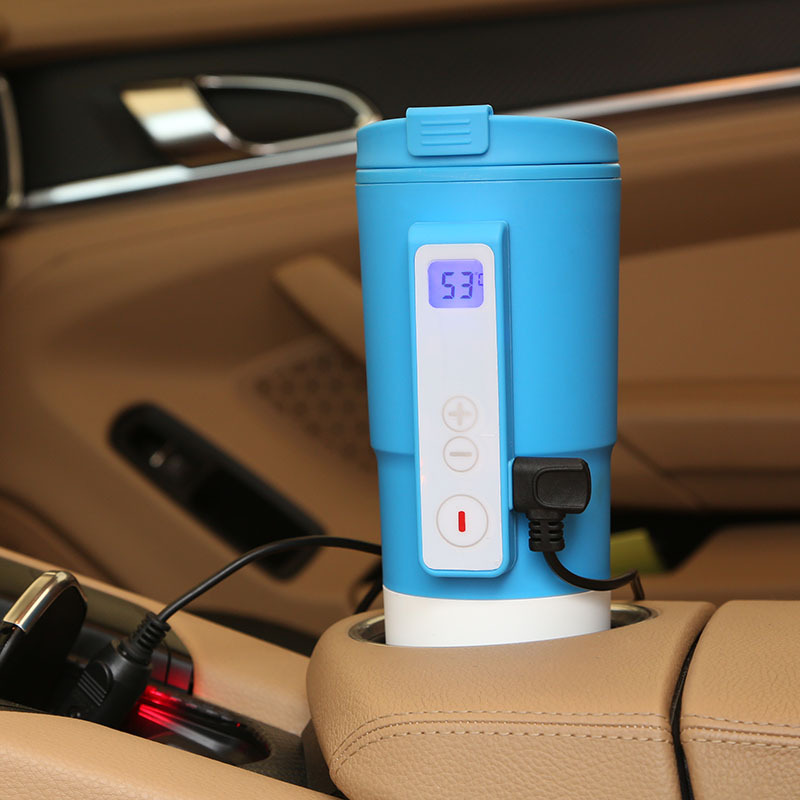 Image of: Smart Electric Car Heated Travel Mug