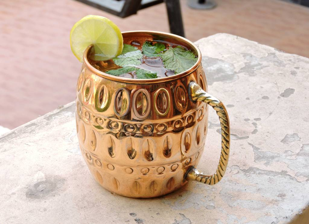 Solid Copper Mugs Moscow Mule