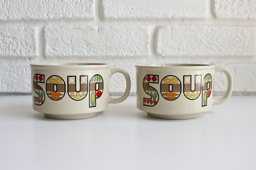 Image of: Soup Mug Paint