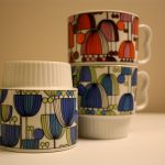 Stackable Coffee Mugs Customized