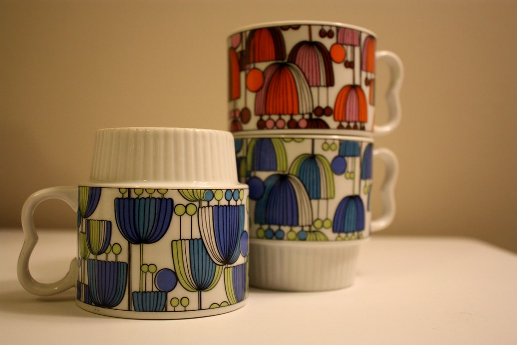 Image of: Stackable Coffee Mugs Customized