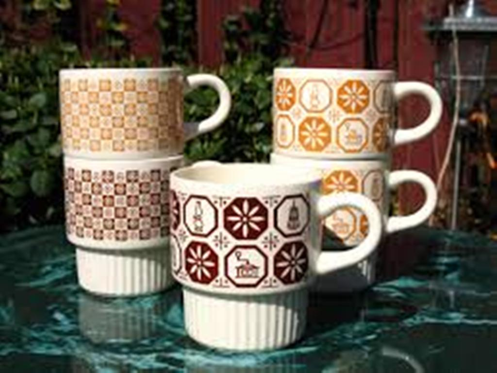 Image of: Stackable Coffee Mugs Target