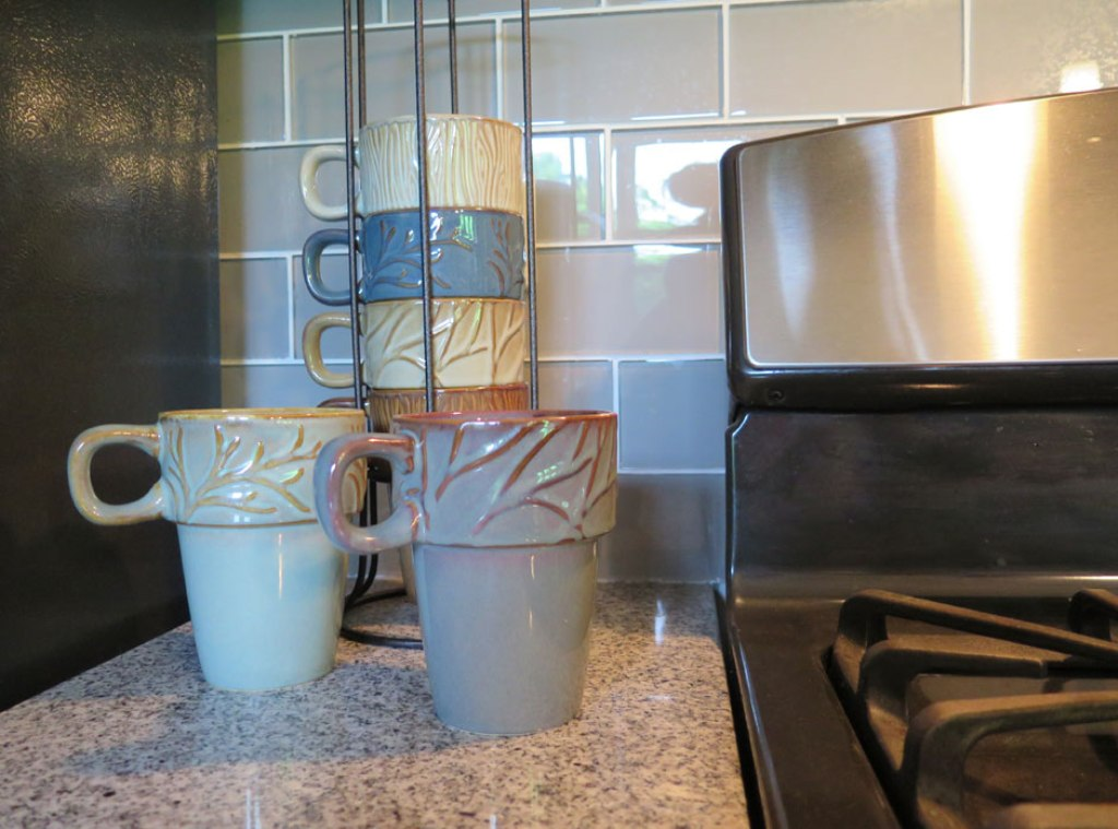 Image of: Stackable Coffee Mugs with Stand at Costco