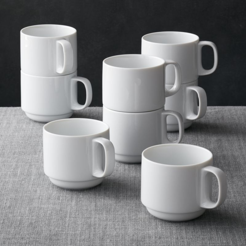 Image of: Stackable Mugs Ideas