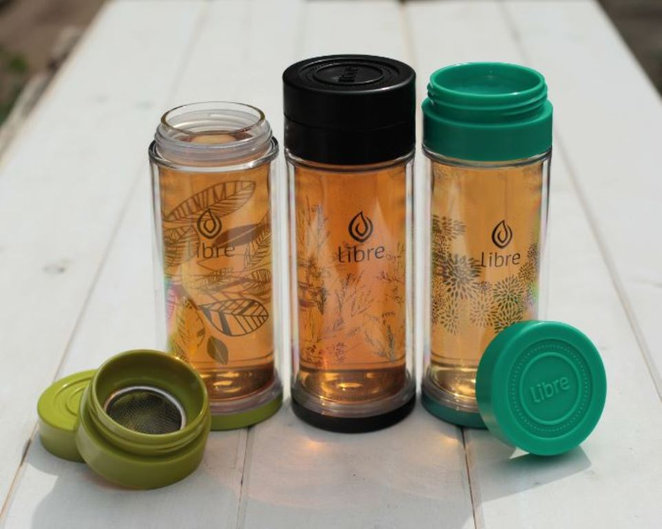 Image of: Stainless Steel Tea Infuser Travel Mug