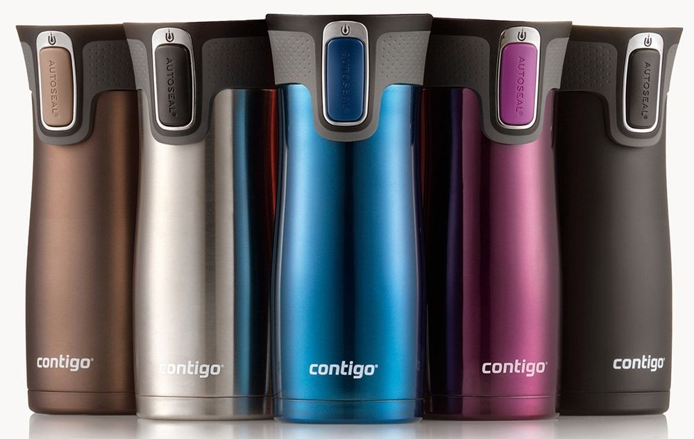 Image of: Stainless Steel Travel Mug Colors